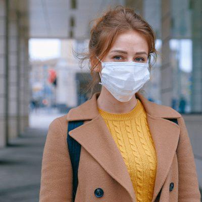 ginger mask girl